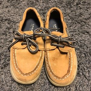 Little boys Sperry top sliders